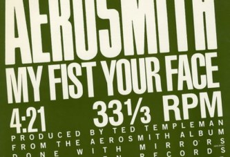 Aerosmith – My Fist Your Face