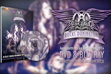 "Anuncian DVD y Blu-ray de ""Aerosmith Rocks Donington 2014"""