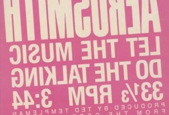 Aerosmith – Let The Music Do The Talking