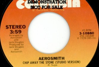 Aerosmith – Chip Away The Stone