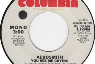 Aerosmith –  You See Me Crying