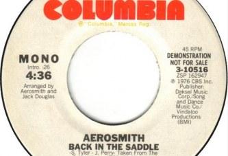 Aerosmith – Back In The Saddle