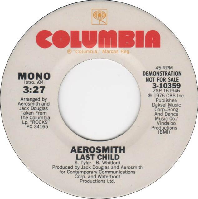 Aerosmith – Last Child