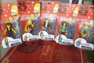 The Simpsons – Figuras de acción de Aerosmith